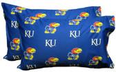 Kansas Printed Pillow Case - (Set of 2) - Solid