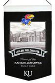 Kansas Jayhawks Wool Stadium Banner - Allen Fieldhouse
