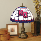 Kansas Jayhawks Tiffany Table Lamp
