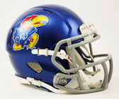 Kansas Jayhawks Speed Mini Helmet