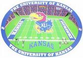 Kansas Jayhawks Set of 4 Placemats