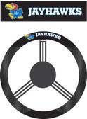 Kansas Jayhawks Poly-Suede Steering Wheel Cover