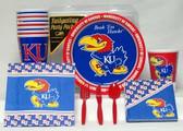 Kansas Jayhawks Party Supplies Pack #1