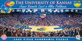 Kansas Jayhawks Panoramic Stadium Puzzle