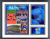 Kansas Jayhawks Milestones & Memories Framed Photo