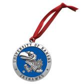 Kansas Jayhawks Logo Ornament