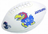 Kansas Jayhawks Full Size Embroidered Football