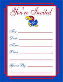 Kansas Jayhawks Formal Invitations