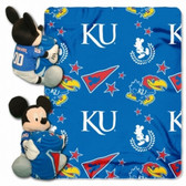 Kansas Jayhawks Disney Hugger Blanket