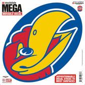 """Kansas Jayhawks Decal - 12""""x12"""" Mega"""