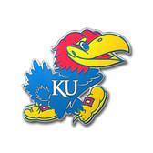Kansas Jayhawks Color Auto Emblem - Die Cut