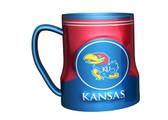 Kansas Jayhawks Coffee Mug - 18oz Game Time