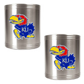 Kansas Jayhawks Can Holder Set