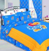 Kansas Jayhawks Bed in a Bag (Full)