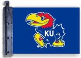Kansas Jayhawks Antenna Flag