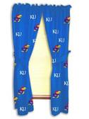 """Kansas Jayhawks 42"""" x 63"""" Curtain Panels"""