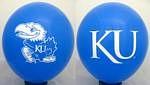 """Kansas Jayhawks 11"""" Balloons"""