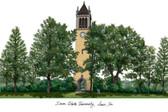 Iowa State University Lithograph
