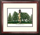Iowa State University Alumnus Framed Lithograph