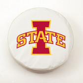 Iowa State Cyclones White Tire Cover, Small
