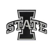 Iowa State Cyclones Silver Auto Emblem