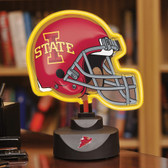Iowa State Cyclones Neon Helmet Desk Lamp