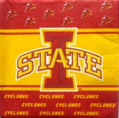 Iowa State Cyclones Lunch Napkins