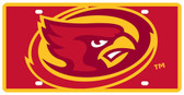 Iowa State Cyclones License Plate - Acrylic Mega Style