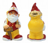 Iowa State Cyclones Garden Gnome Coin Bank