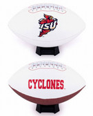 Iowa State Cyclones Full Size Embroidered Football