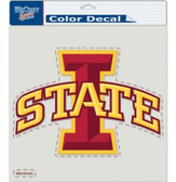 "Iowa State Cyclones Die-Cut Decal - 8""x8"" Color"