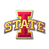 Iowa State Cyclones Color Auto Emblem - Die Cut