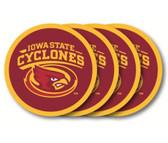 Iowa State Cyclones Coaster Set - 4 Pack