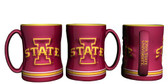 Iowa State Cyclones Coffee Mug - 15oz Sculpted
