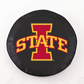 Iowa State Cyclones Black Tire Cover, Large