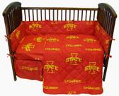 Iowa State Cyclones Baby Crib Set