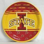 "Iowa State Cyclones 9"" Dinner Paper Plates"