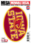 "Iowa State Cyclones 5""x7"" Mega Decal"