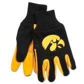 Iowa Hawkeyes Two Tone Gloves - Adult