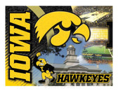 Iowa Hawkeyes Printed Canvas