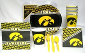 Iowa Hawkeyes Party Supplies Pack #1