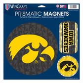 "Iowa Hawkeyes Magnets - 11""x11 Prismatic Sheet"