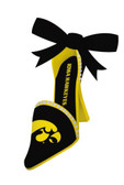 Iowa Hawkeyes High Heeled Shoe Ornament
