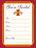 Iowa Hawkeyes Formal Invitations
