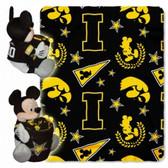 Iowa Hawkeyes Disney Hugger Blanket