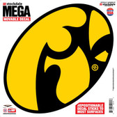 "Iowa Hawkeyes Decal - 12""x12"" Mega"