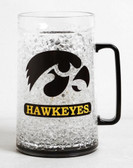 Iowa Hawkeyes Crystal Freezer Mug - Monster Size