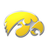 Iowa Hawkeyes Color Auto Emblem - Die Cut