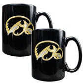 Iowa Hawkeyes Coffee Mug Set