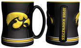 Iowa Hawkeyes Coffee Mug - 15oz Sculpted